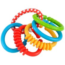 Early Learning Centre Loopy Links Baby Toddler Birth Teething Toys Develop Hand Eye Coordination