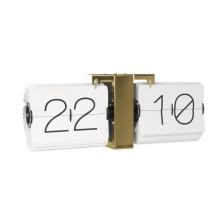 Flip Clock, No Case, Gold