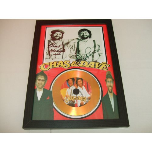 chas & dave signed