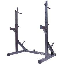Gym Master Squat Rack And Dip Bar Station