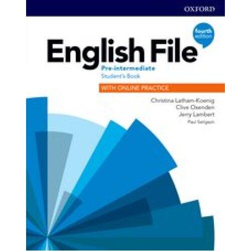 English File 4E Pre Intermediate Student's Book with Online Practice