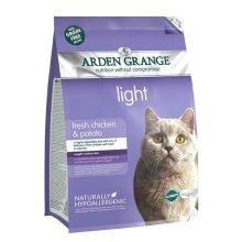 Arden Grange Grain Free Cat Light With Fresh Chicken & Potato 400g (Pack of 6)