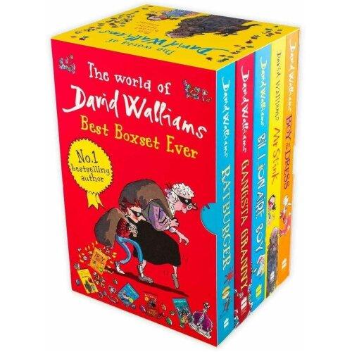 David Walliams 5 Books Collection Set