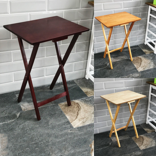 Folding Snack Table TV Side Laptop Coffee Portable