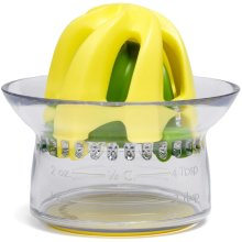 Chef'n Juicester Jr. 2-in-1 Citrus Juicer with Measuring Cup, 9 x 8 cm