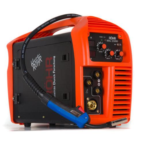 Rohr MIG-250MI | MIG Welder Inverter Gas/Gasless MMA 240V 250 amp DC Welding Machine