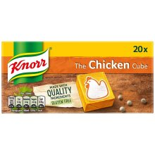 Knorr Chicken Stock Cubes, 20 x 10g