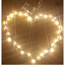 Heart Shaped Valentine Light Up LED Light