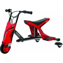 Razor Drift Rider Electric Drift Trike Red Ages 9 Years+