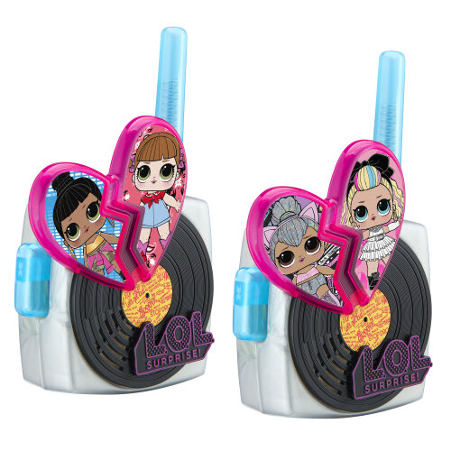 LOL Surprise Remix Walkie Talkies with Extended Range in Pink