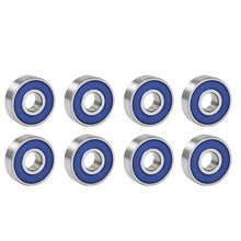 Trixes 8pc Frictionless ABEC 9 Roller Skate & Skateboard Bearings