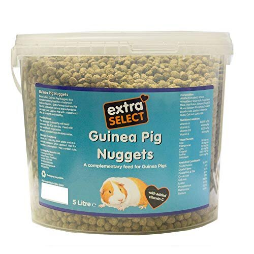Extra Select Guinea Pig Nuggets in Bucket 5ltr