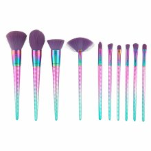 LaRoc 10pc Mermaid Makeup Brush Set
