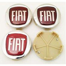 Fiat wheel center caps replacement x 4