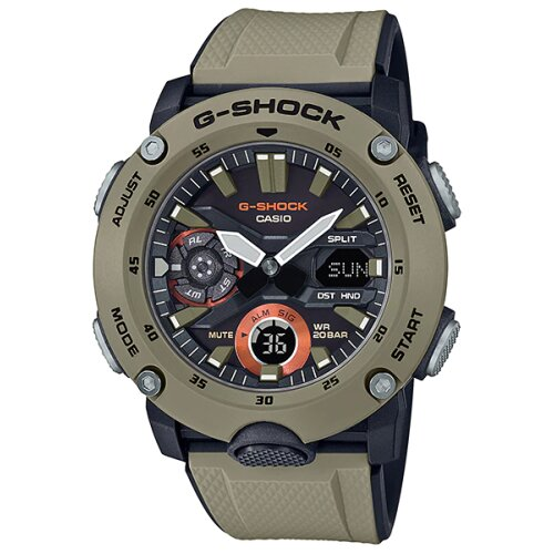 Casio G-Shock GA-2000-5A Guard structure For Men's Brand New watch