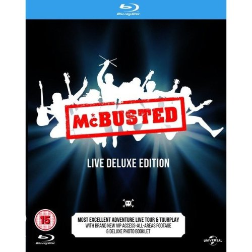 McBusted - Live Deluxe Edition Blu-Ray [2015]