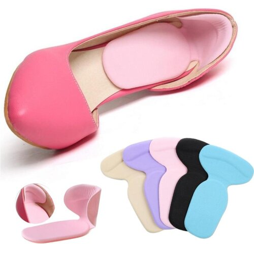 New T-Shape Silicone Non-Slip Cushion Foot Heel Protector Liner Shoe Comfortable Pads