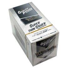100 Booklets x RIZLA Silver Standard Regular - Full Box