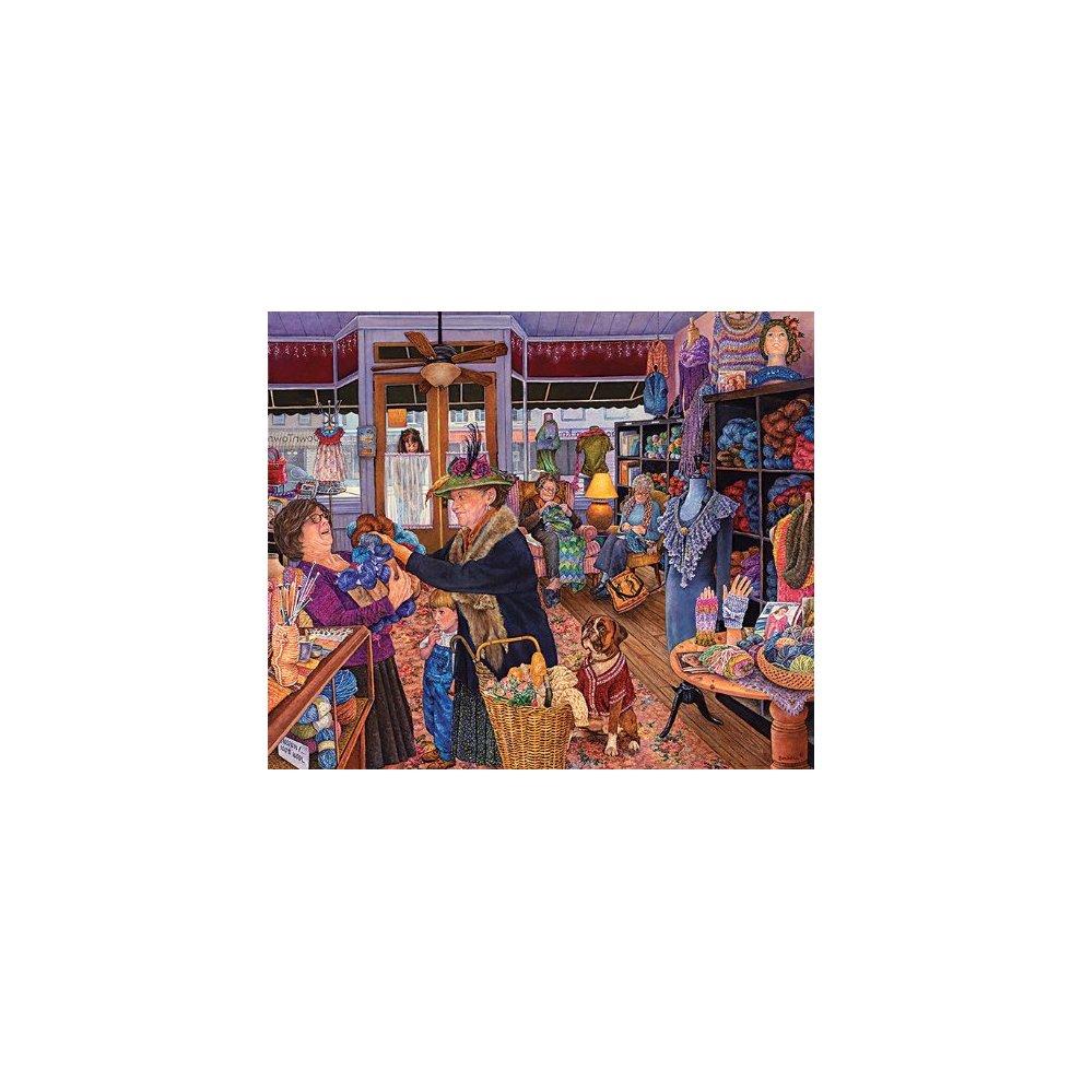 1000 pc Jigsaw Puzzle The Yarn Shop 16