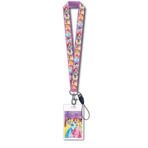 Lanyard - Disney - Princess w/ Card Holder New Gifts Toys 23691