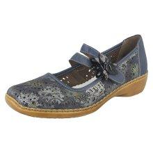 Ladies Rieker Flat Shoes 41372
