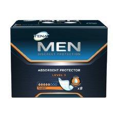 Tena MEN Level 3 Super Absorbent Protector - 8 Pads