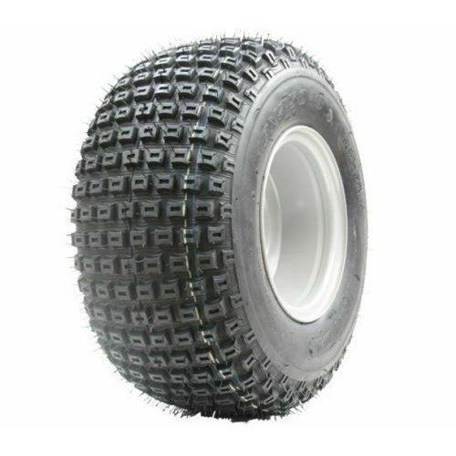 18x9.50-8 knobby tyre on four stud rim - ATV trailer - quad wheel