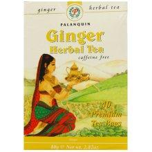 40 Palanquin Ginger Tea Bags | Herbal Tea Bags