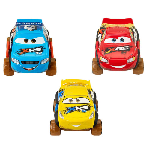 Cars XRS 3 Vehicle Pack - Lightning, Cruz and Cal GGP54