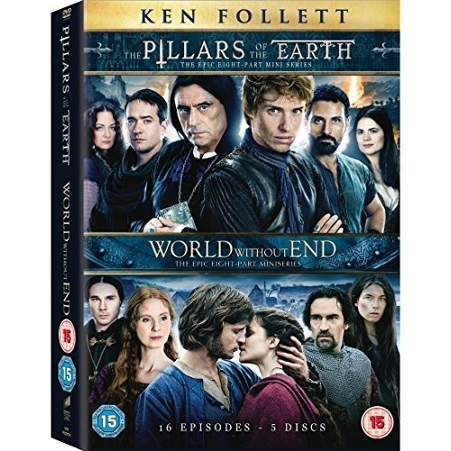 The Pillars Of Earth - Complete Mini Series / World Without End - Complete Mini Series DVD [2015]