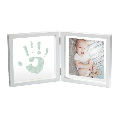 Baby Art My Baby Style Transparent with Paint¦Gift For Baby Shower¦+0m