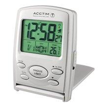 Acctim 71707 Vista MSF Radio Controlled Multi function LCD Travel Alarm Clock