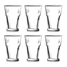 La Rochere Set of 6 Bee Beer Glasses, 40cl