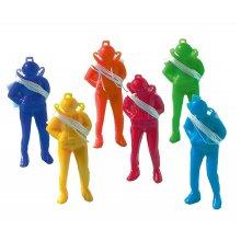 Parachutists 12 pieces toys children birthday Encaustic Size