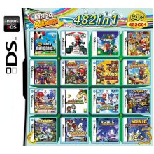 482 in 1 Video Games Cartridge Multicart for DS NDS NDSL NDSi 2DS 3DS