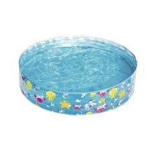 "Sea Life Snapset Rigid 4ft x 10\\\"" Childrens Garden Swimming Paddling Pool 55028"