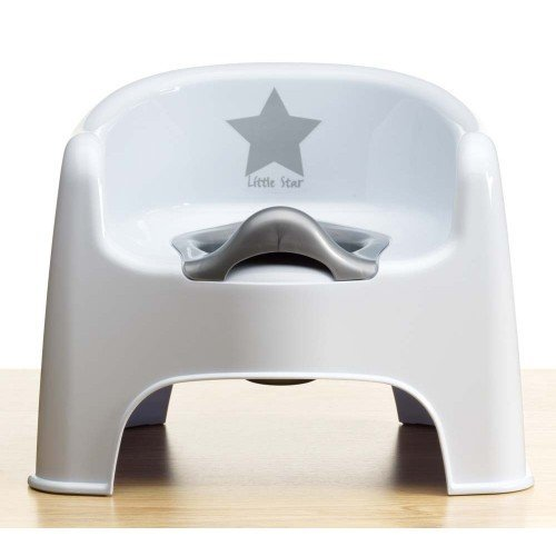 Deluxe Silver Lining Potty Chair Little Star