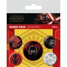 Star Wars The Rise of Skywalker Sith Badge (Pack of 5)