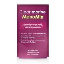 Cleanmarine MenoMin for During & After Menopause - 30 Capsules