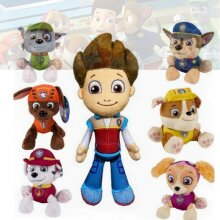 PAW Patrol Everest Plush Doll Toy Chase Ryder Rubble