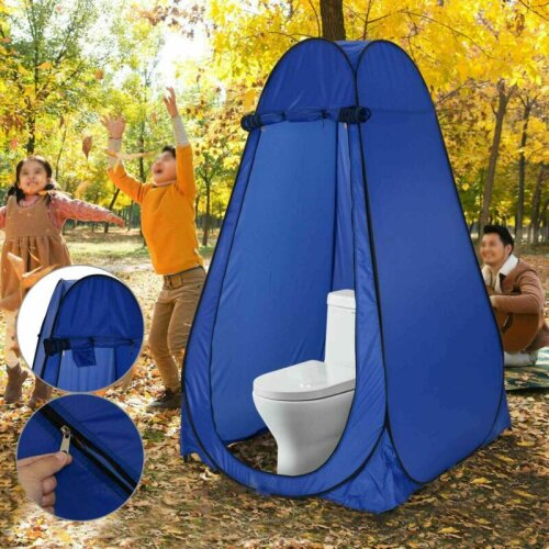 Portable Pop Up Tent Outdoor Toilet Shower Changing Privacy Room