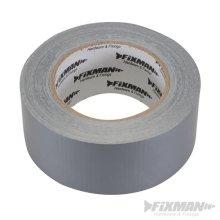 Fixman Super Heavy Duty Duct Tape 50mm x 50m Silver - Duct Tape x Super Heavy -  duct tape x super heavy duty silver fixman 50m 50mm 188824