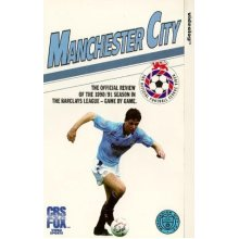 Manchester City-Season 90/91 [VHS] - Good Condition - Used