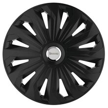 Michelin 92009 Wheel trim Fabienne with reflector system N.V.S., set of 4, 35.56 cm, 14 inches, black