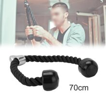 Gym training Lat Bicep Tricep Ropes Pull Down Rope Attachment Handle