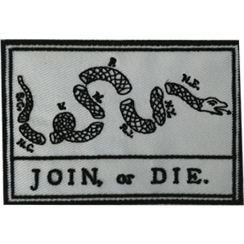 Patch - Flags - Broken Snake Join or Die Icon-On p-dsx-4834