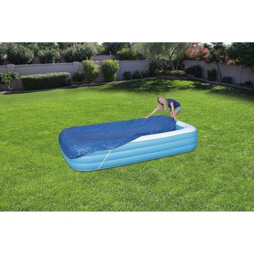 "Bestway Rectangular Swimming Paddling Pool Cover 305 X 183cm 120"" X 72"""