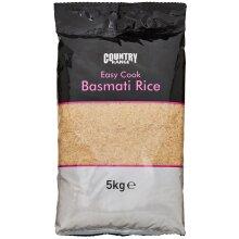 Country Range Easy Cook Basmati Rice - 1x5kg