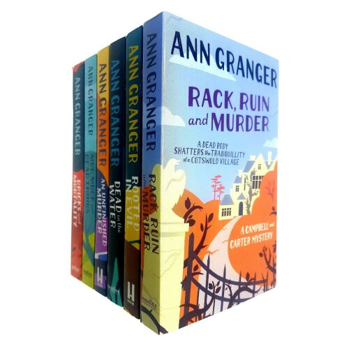 Ann Granger 6 Books Collection Set Campbell and Carter Mystery Series