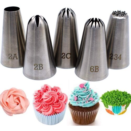 Piping Tips Large Cake Decorating Tools